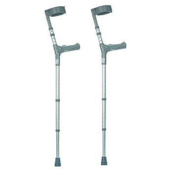 height adjustable crutches - pair