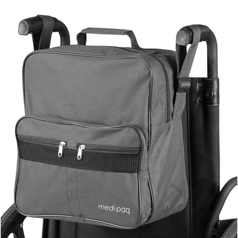 Grey Wheelchair bag