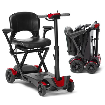 Red light weight mobility scooter
