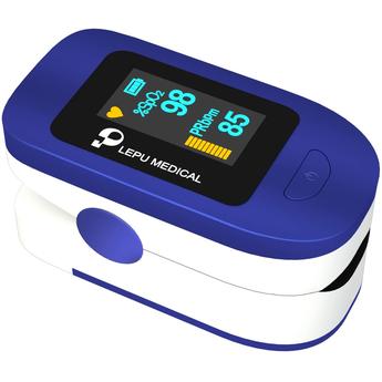 Medical Finger Pulse Oximeter - Oxygen Blood Level Monitoring