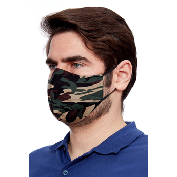 Reusable Face Masks - Camo
