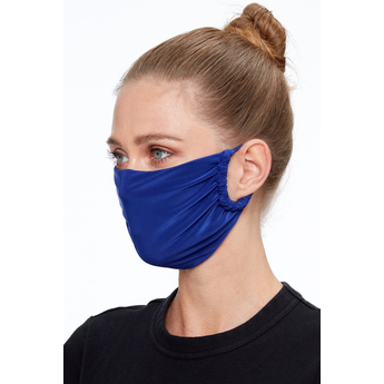 Washable face mask in Royal Blue