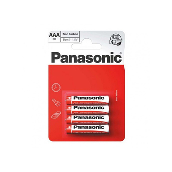 Panasonic Zinc Carbon 4 x AAA Battery Pack