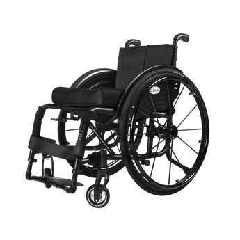 S02 Deluxe Wheelchair Black