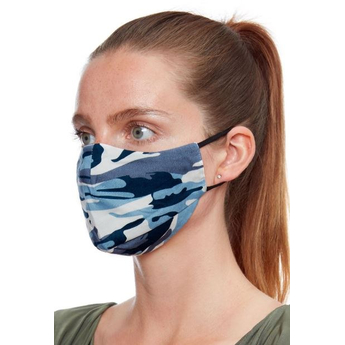 Unisex Reusable Face Masks - Grey Camo