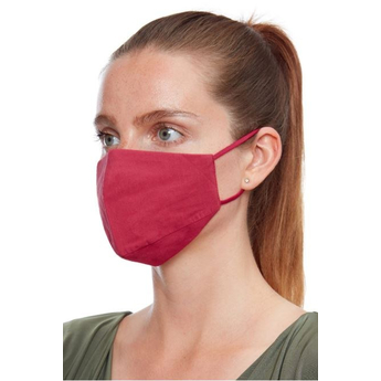 Reusable Face Mask - Red
