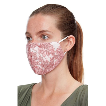 Reusable Face Mask - Rose Pink