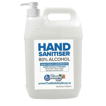 Irish Hand Sanitiser Liquid 5L