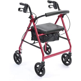Red Rollator