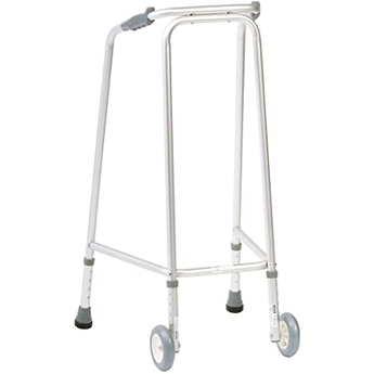 Ultra Narrow Walking Frame - With Wheels