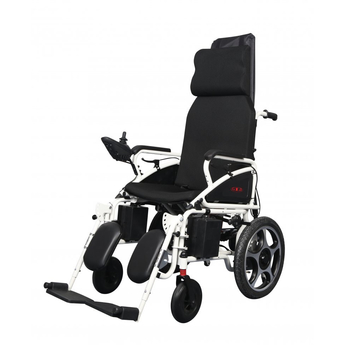 Electric Wheelchair With Adjustable Back Rest