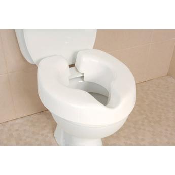 Novelle Clip-On Raised Toilet Seat
