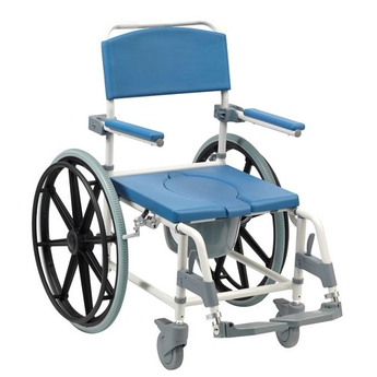 Aston Shower Commode Chair Self Propelled