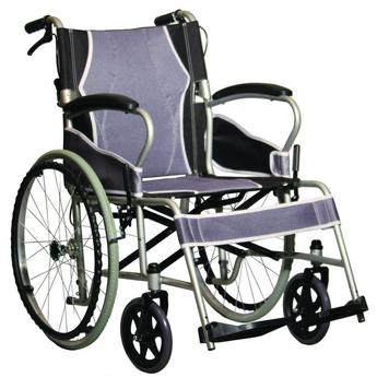 Antar Self Propelled Steel Wheelchair