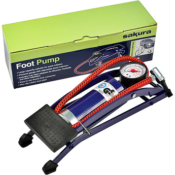 single cylinder foot pump