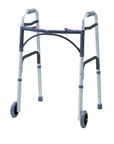 Wheeled Folding Walking Frame
