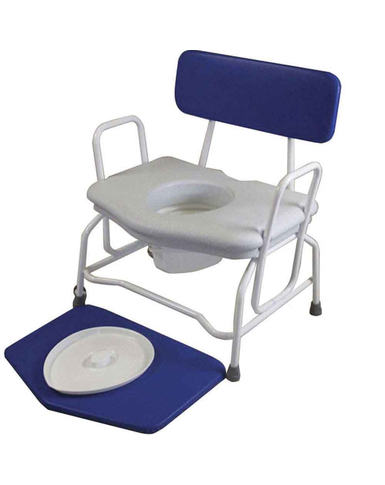 Extra Wide Commode Chair