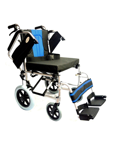 Wheelchair With Attendant Hand Brakes